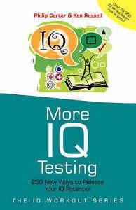More IQ Testing, Philip Carter