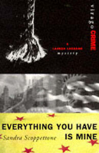 Everything You Have Is Mine (A Lauren Laurano Mystery)-ExLibrary