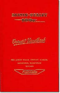 Austin-Healey 100 Owners Handbook  BOOK NEW