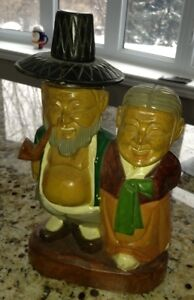 Interesting piece of carved wood folk art for sale
