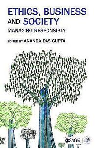 Ethics, Business and Society: Managing Responsibly (Response Books), , Used; Ver