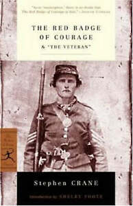 "The Red Badge of Courage & ""The Veteran"" (Modern Library Classics)-ExLibrary"
