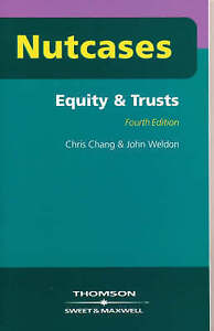 Equity and Trusts (Nutcases), Chris Chang, John Weldon, New Book