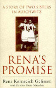Rena's Promise: A Story of Sisters in Auschwitz by Gelissen, Rena Hardback Book