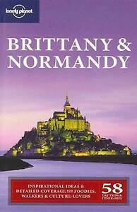 Lonely Planet Brittany & Normandy (Regional Travel Guide)-ExLibrary