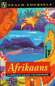 Afrikaans (Teach Yourself Languages S.), Good Condition Book, Helena van Schalkw