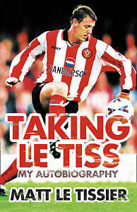 Taking-le-Tiss-Matt-Le-Tissier-Used-Good-Book