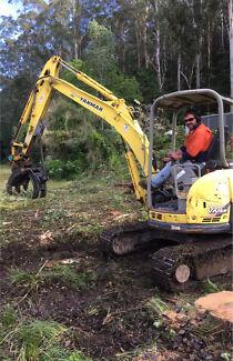 Yanmar excavator