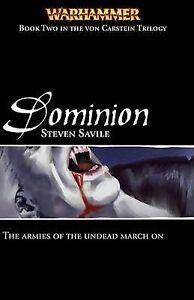 Dominion (Warhammer: Von Carstein), Savile, Steven, New Book