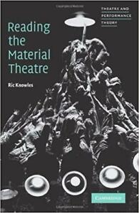Reading the Material Theatre 1st edition