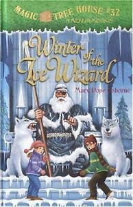 Mint-Winter-of-the-Ice-Wizard-No-32-by-Mary-Pope-Osborne-Hardcover-Book-FreeShp