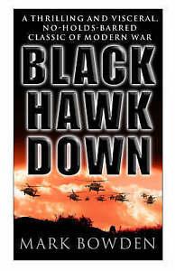 Black-Hawk-Down-Mark-Bowden-Corgi-1999-Paperback-with-Location-Combat-Photos