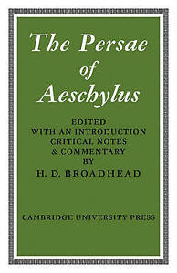 NEW The Persae of Aeschylus by Aeschylus