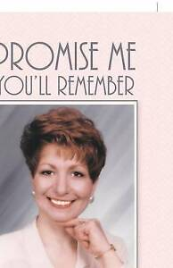 NEW Promise Me You'll Remember: My Wife's Life by Ronald E. Keener