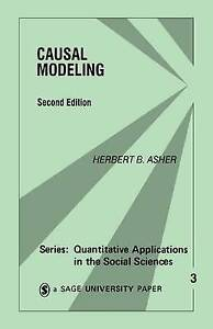 Causal Modeling (Quantitative Applications in the Social Sciences)-ExLibrary