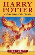 Harry Potter and The Order of The Phoenix Book