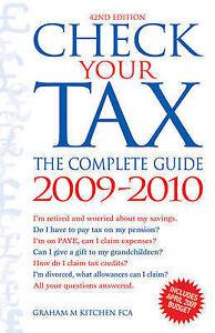 Check Your Tax 2009-2010, Graham M. Kitchen