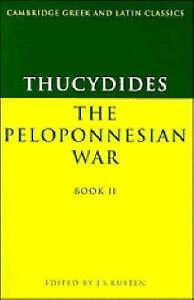 Thucydides: The Peloponnesian War Book II, Thucydides