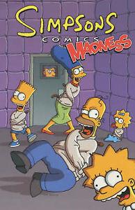 Simpsons-Comics-Madness-Matt-Groening-etc-Used-Good-Book