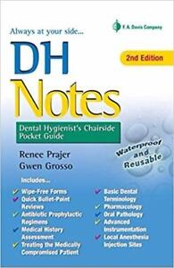 DH Notes: Dental Hygienists Chairside Pocket Guide 2nd Edition