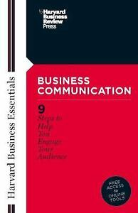 Business Communication Harvard Business Essentials By  - $12.78