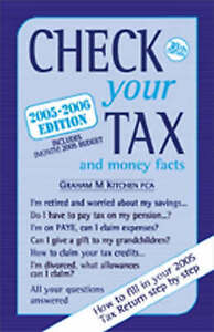 Good, Check Your Tax and Money Facts 2005-2006, Kitchen, Graham M., Book