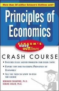 Schaum's Easy Outline of Principles of Economics, Salvatore, Dominick