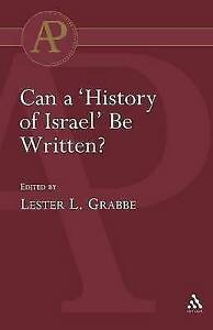 Can a 'History of Israel' be Written?