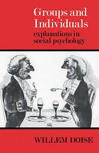 Groups and Individuals: Explanations in Social Psychology-ExLibrary