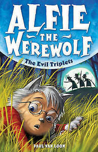 The-Evil-Triplets-Alfie-the-Werewolf-ExLibrary