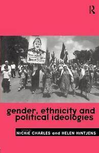 Gender, Ethnicity and Political Ideologies-ExLibrary