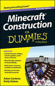 Minecraft Construction for Dummies by Cordeiro, Adam -Paperback