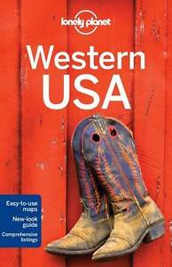 Lonely planet Travel Guide Western USA