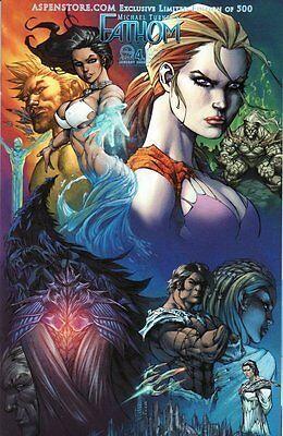 Aspen Store Com Variant Fathom  4 E 4E Michael Turner Comic Book 1St Print