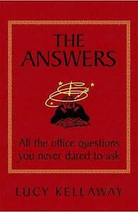Very Good, The Answers, Lucy Kellaway, Book