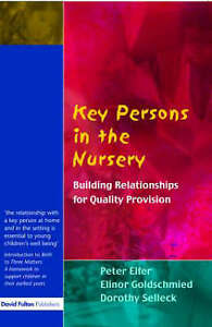 Very Good 1843120798 Paperback Key Persons in the Nursery Building Relationship - Lampeter, United Kingdom - Very Good 1843120798 Paperback Key Persons in the Nursery Building Relationship - Lampeter, United Kingdom