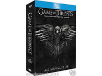 Game Of Thrones - Complete Fourth Season HD Blu-ray 5-Disc Box Set - VGC