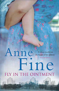 """""""VERY GOOD"""" Fine, Anne, Fly in the Ointment, Book"""