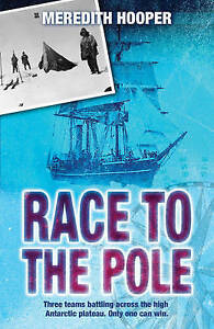 Race to the Pole by Meredith Hooper Paperback Book (English) Free Shipping