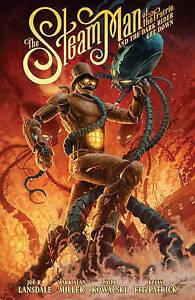 Steam-Man-The-Piotr-Kowalski-Joe-R-Lansdale-Mark-Miller-Very-Good-Book