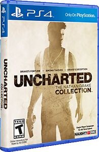 Uncharted Collection PS4 (3 games for 1!)