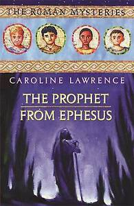 The Prophet from Ephesus (The Roman Mysteries)-ExLibrary