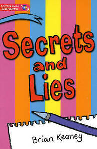 Literacy World Comets Stage 2 Novel Secret, Good Condition Book, Keaney, Brian,
