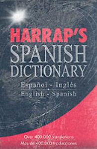 Harrap Spanish-English/English-Spanish Dictionary (Spanish Edition)-ExLibrary