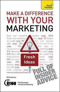 Make A Diff W Your Marketing: Ty  BOOK NEW