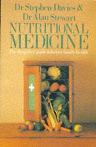 Nutritional Medicine (Pan original), Stephen Davies, Alan Stewart | Paperback Bo