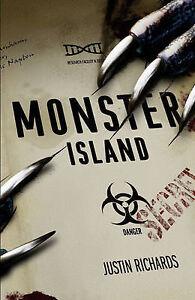 Monster Island by Justin Richards (Hardback, 2011)