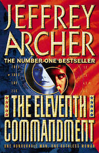 The-Eleventh-Commandment-by-Jeffrey-Archer-Hardback-1998-FREE-Postage