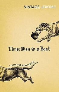 JEROME,J-THREE MEN IN A BOAT BOOK NEW
