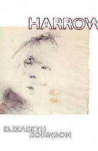 Harrow by Elizabeth Robinson (Paperback, 2001)